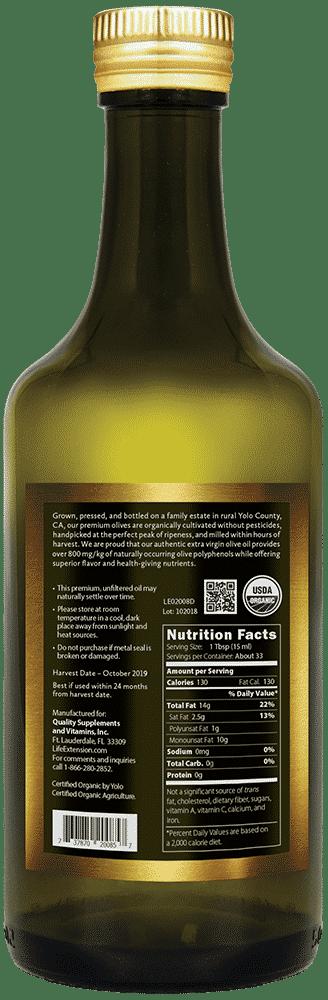 Cali Estate Organic Extra Virgin Olive Oil, 500 ml 2