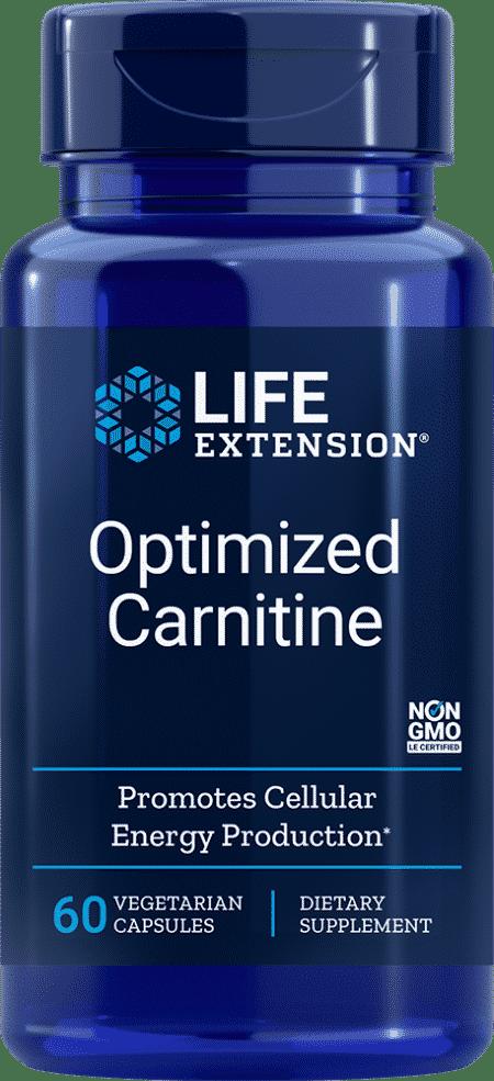 Optimized Carnitine, 60 vegetarian capsules 1