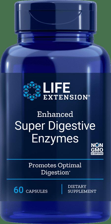 Enhanced Super Digestive Enzymes, 60 VeggieC 1
