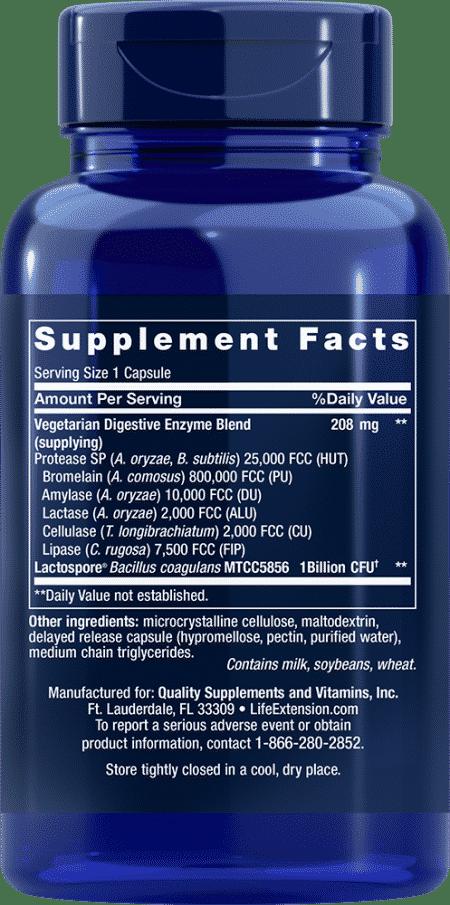 Enh Super Digest Enzymes W/ Probiotics, 60 VeggieC 2