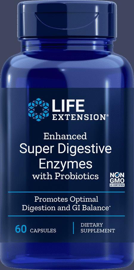 Enh Super Digest Enzymes W/ Probiotics, 60 VeggieC 1