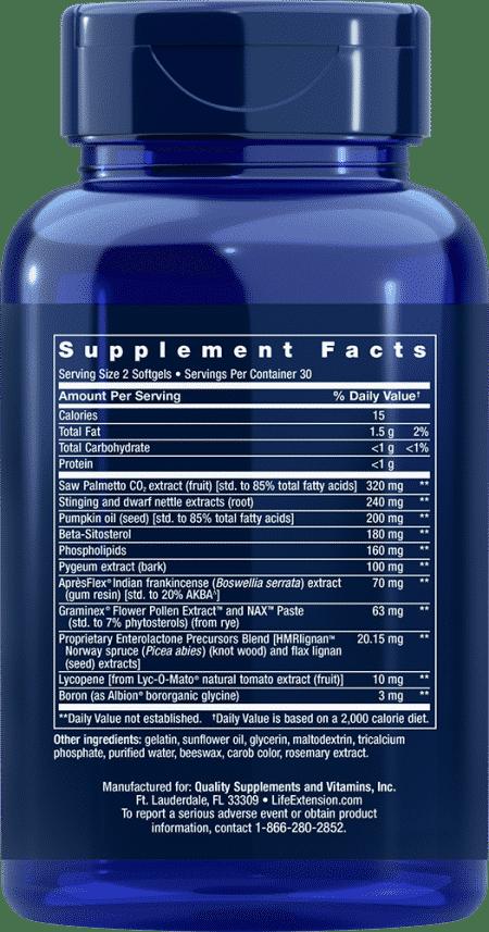 Ultra Prostate Formula, 60 softgels 2