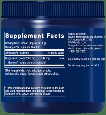 Neuro-Mag® Magnesium L-Threonate , 93.35 grams 2