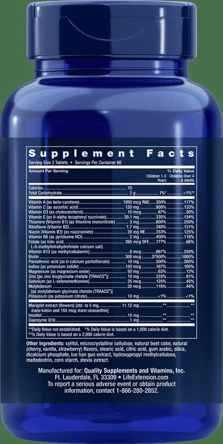 Children's Formula Life Extension Mix™, 120 ChewT 2