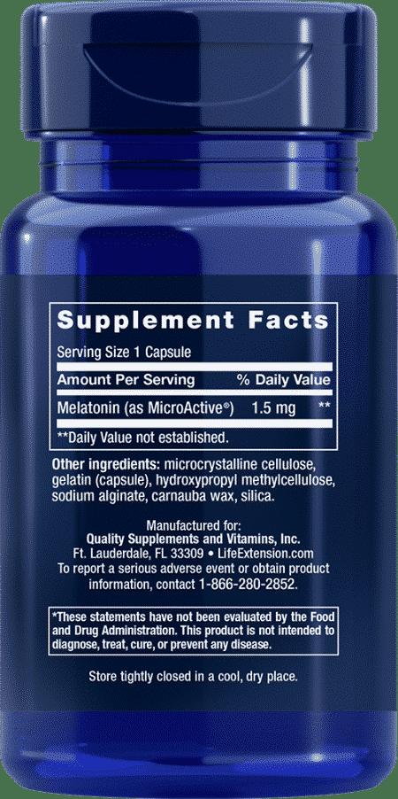 Melatonin IR/XR, 60 capsules 2