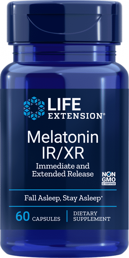 Melatonin IR/XR, 60 capsules 1