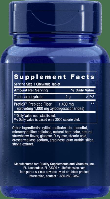 FLORASSIST® Prebiotic Chewable, 60 ChewT 2