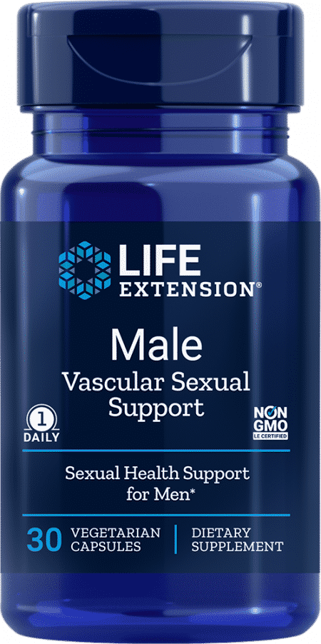 Male Vascular Sexual Support, 30 capsules 1