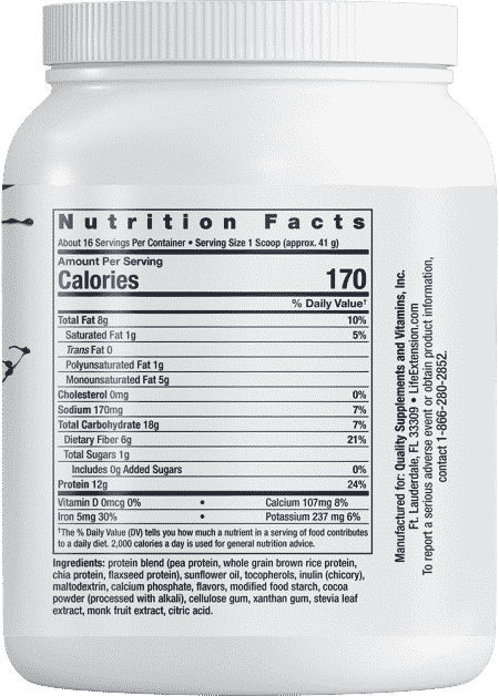 Wellness Shake Nutrition Shake Choc Fl, 23.14 oz 2