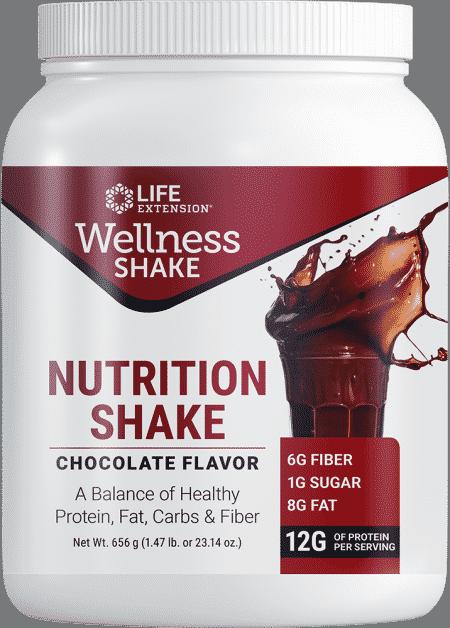 Wellness Shake Nutrition Shake Choc Fl, 23.14 oz 1