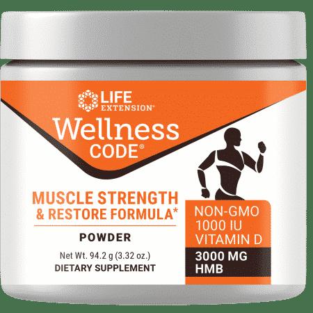 Wellness Code™ Muscle Stren & Rest Formula 94.20 g 1