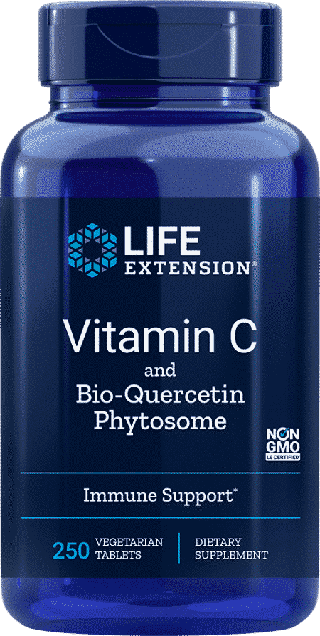 Vitamin C w/ Bio-Quercetin Phytosome, 250 Veggie tabs 1