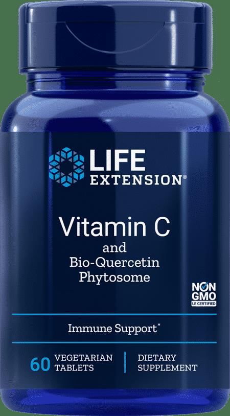 Vitamin C w/Bio-Quercetin Phytosome, 60 Veggie Tab 1