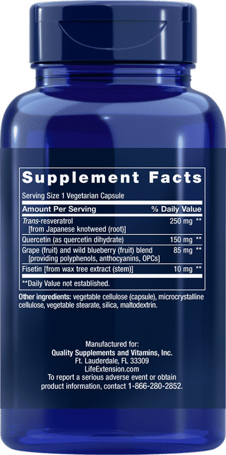 Optimized Resveratrol, 60 Capsules 2