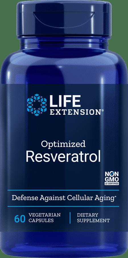 Optimized Resveratrol, 60 Capsules 1