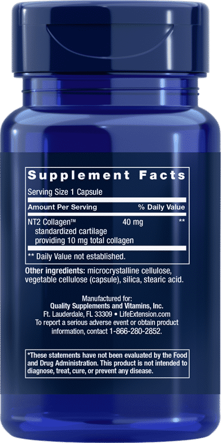 NT2 Collagen™, 40 mg, 60 Small Capsule 2
