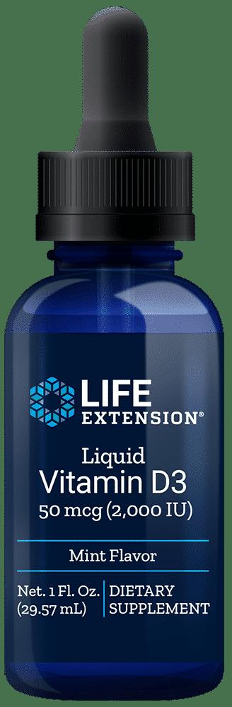 Liquid Vitamin D3 2,000 IU 1