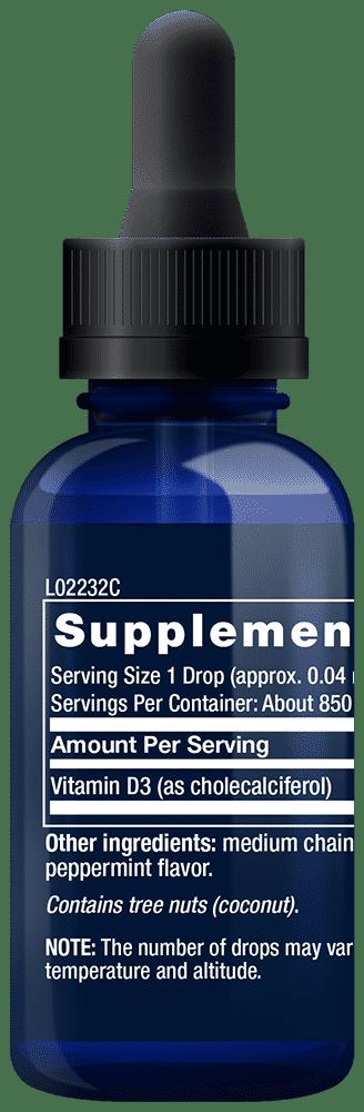 Liquid Vitamin D3 2,000 IU 2