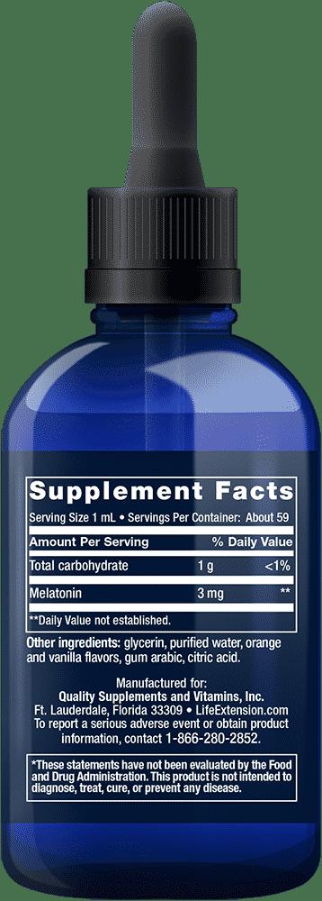 Fast-Acting Liquid Melatonin 2