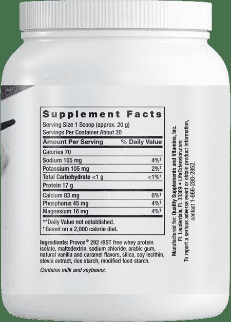 Wellness Code Whey Protein Isolate Vanilla Fl 403g 2