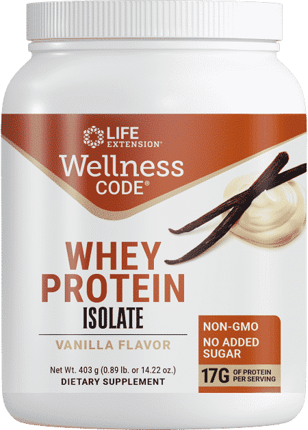Wellness Code Whey Protein Isolate Vanilla Fl 403g 1