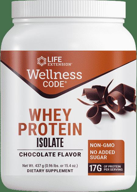 Wellness Code™ Whey Protein Isolate Chocolate Flav 1