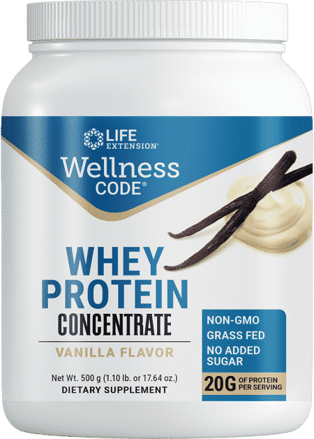 Wellness Code Whey Protein Concentrate Vanilla Fl 1