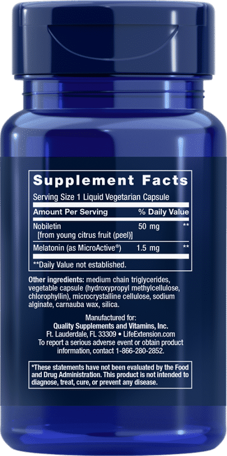 Circadian Sleep, 30 liquid vegetarian capsules 2