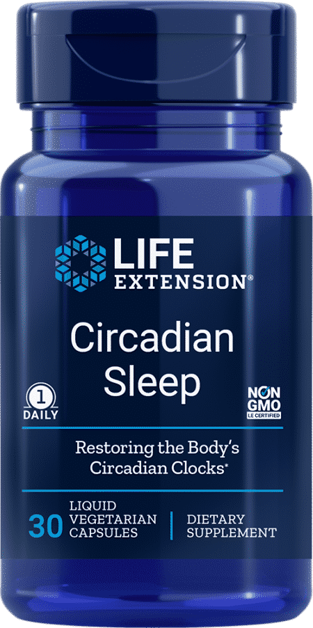 Circadian Sleep, 30 liquid vegetarian capsules 1