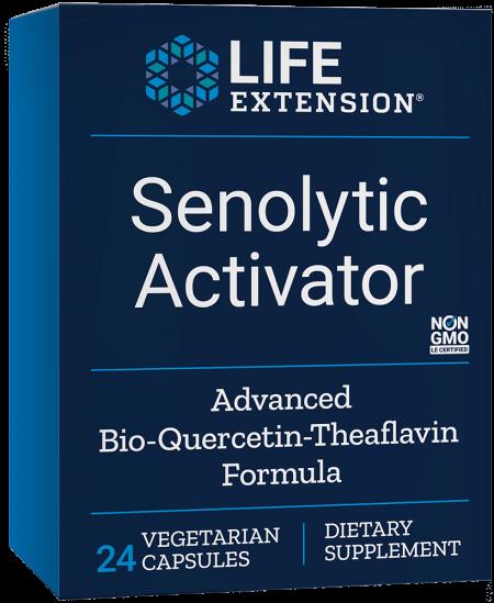 Senolytic Activator, 24 vegetarian capsules 1
