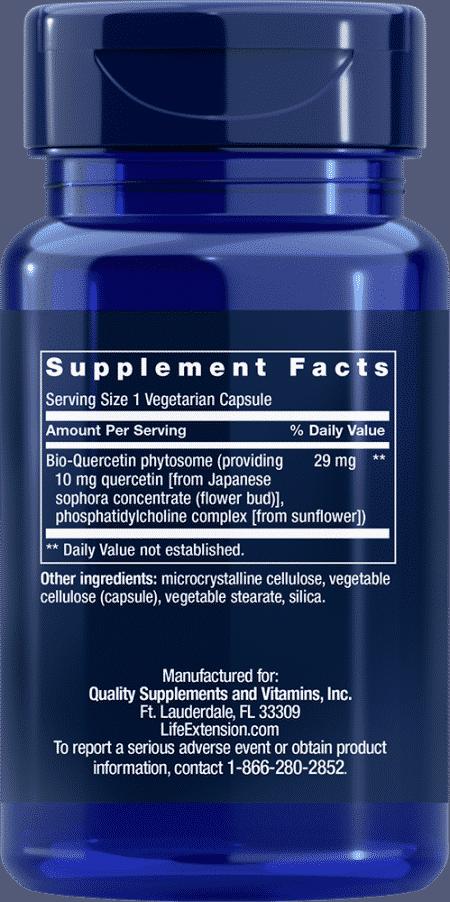 Bio-Quercetin, 30 vegetarian capsules 2