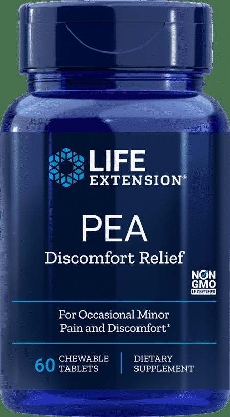 PEA Discomfort Relief, 60 chewable tablets 1