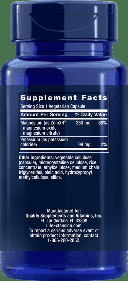 Potassium w/Extend-Release Magnesium 60 veggie cap 2