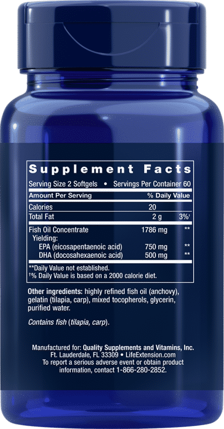 Clearly EPA/DHA, 120 softgels 2