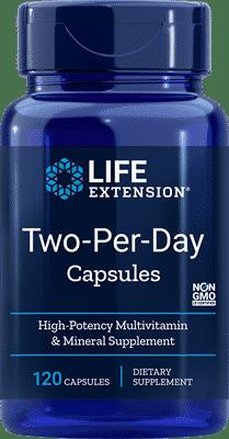 suplemento de vitaminas CanariasLife Extension Two per Day Canarias