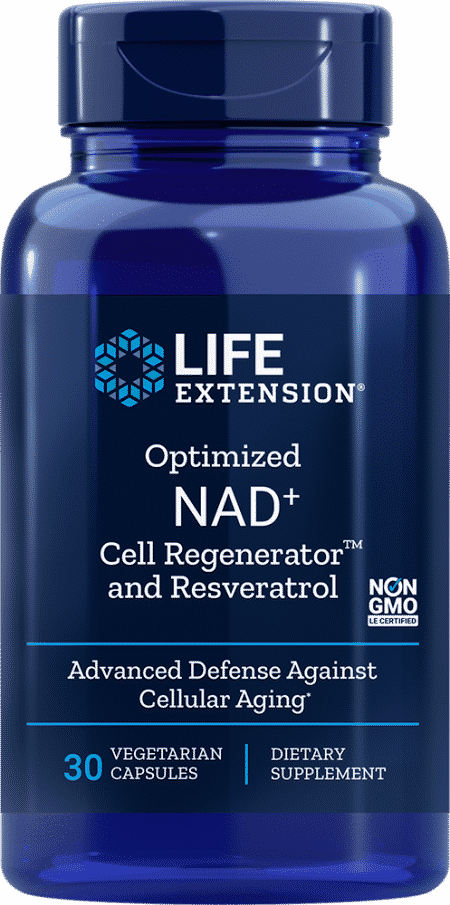 Optimized NAD+ Cell Regenerator™ and Resveratrol 1