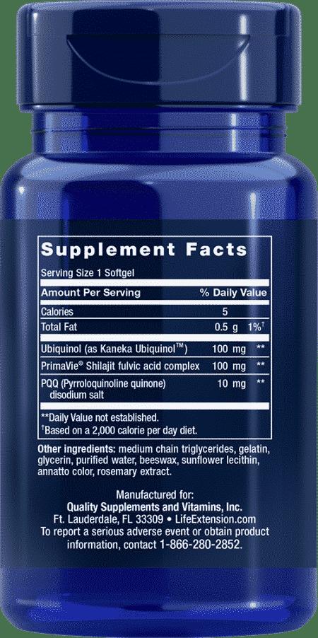 Super Ubiquinol CoQ10 with PQQ, 100 mg, 30 S 2