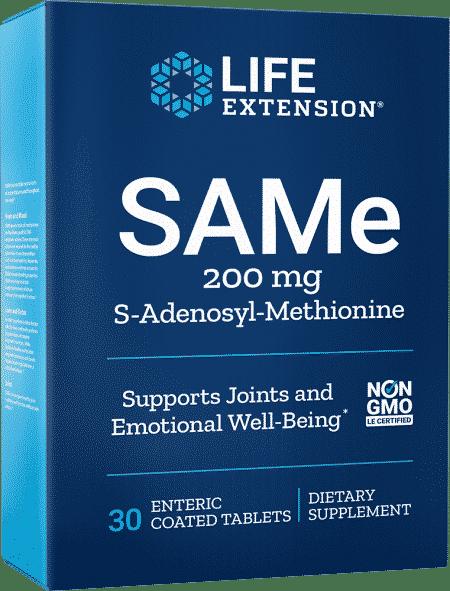 SAMe, 200 mg, 30 enteric-coated tablets 1