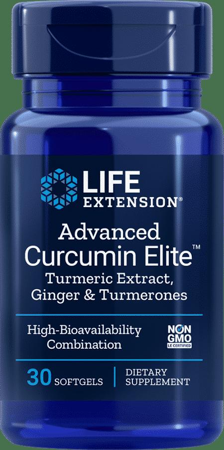 Advanced Curcumin Elite™ Turmeric Extract, Ginger & Turmerones 1