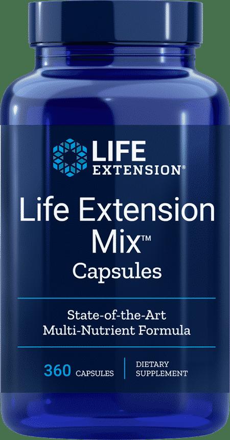 Life Extension Mix - el suplemento multivitamínico más completo