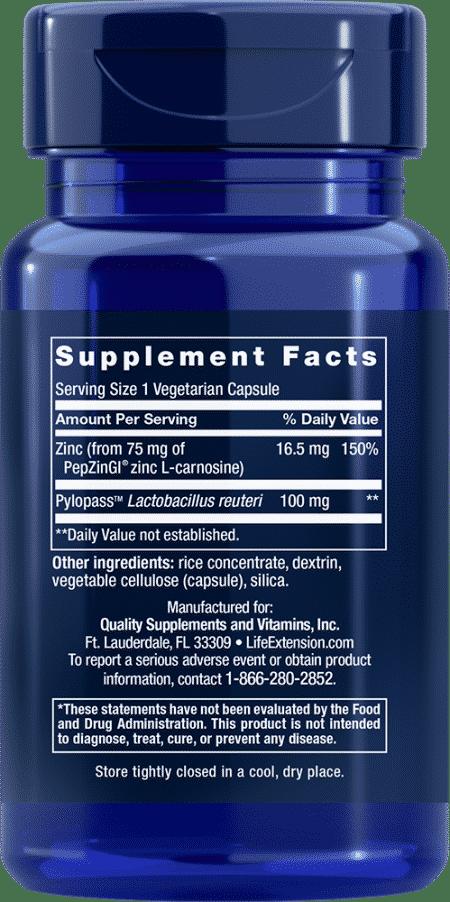 Gastro-Ease™, 60 vegetarian capsules 2