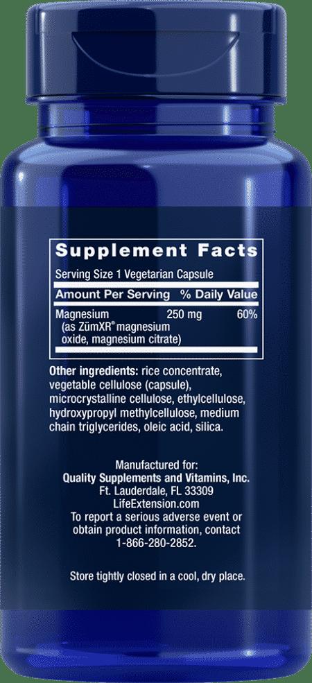 Extend-Release Magnesium, 60 vegetarian capsules 2