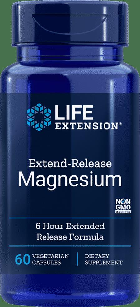Extend-Release Magnesium, 60 vegetarian capsules 1