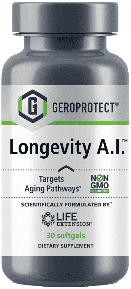 GEROPROTECT™ Longevity A.I.™, 30 softgels 1