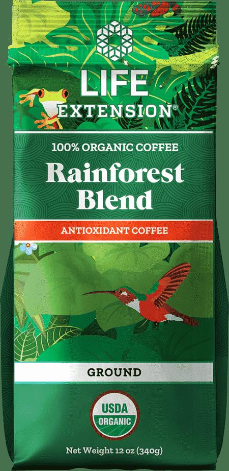 Rainforest Blend Ground Coffee, 12 oz Food 1