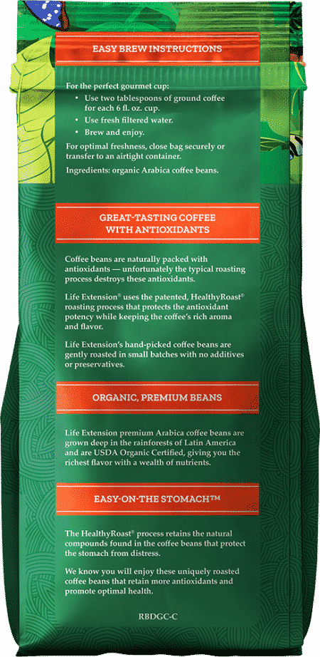 Rainforest Blend Decaf Ground Coffee, 12 oz Food 2