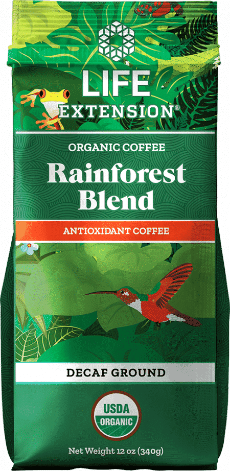 Rainforest Blend Decaf Ground Coffee, 12 oz Food 1
