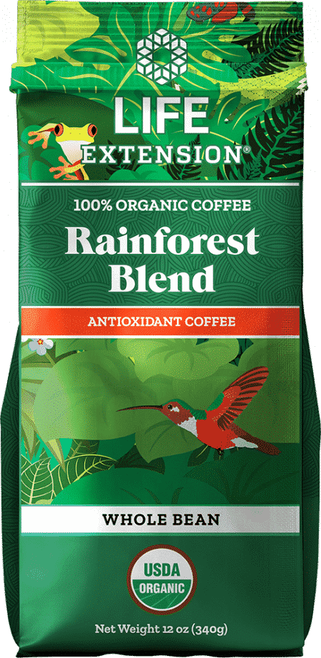 Rainforest Blend Whole Bean Coffee, 12 oz Food 1