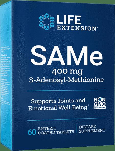 SAMe, 400 mg, 60 enteric-coated tablets 1