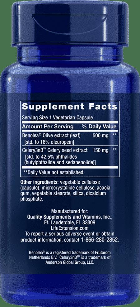 Adv Olive Lf Vasc Sup w/ Celery Sd Ext, 60 VeggieC 2